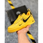 nike air force 1 желтые
