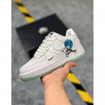 nike air force бежевые