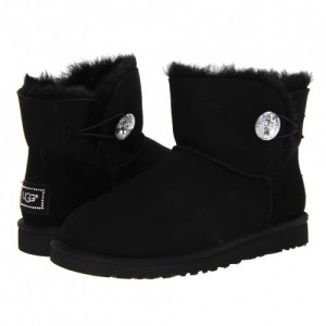 Женские сапоги UGG Mini Bailey Button Bling - B008
